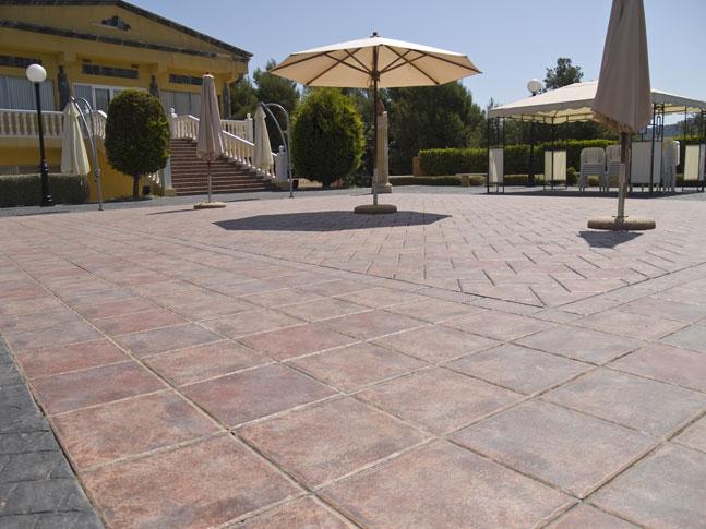 Complejo lago azul ceracasa 03 ceracasa s a - Pavimentos para terrazas ...